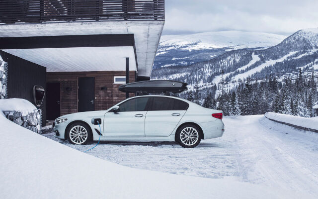BMW 530e Plug-in Hybrid huoltoleasing