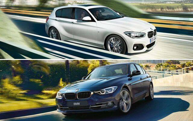 Erä BMW 1- ja 3-sarjan malleja nopeaan toimitukseen!