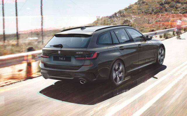 TÄYSIN UUSI BMW 3-SARJAN TOURING.
