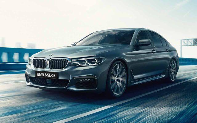 Erään BMW 5-sarjan Sedan ja Touring -malleja