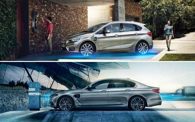 BMW Hybridi -mallit.