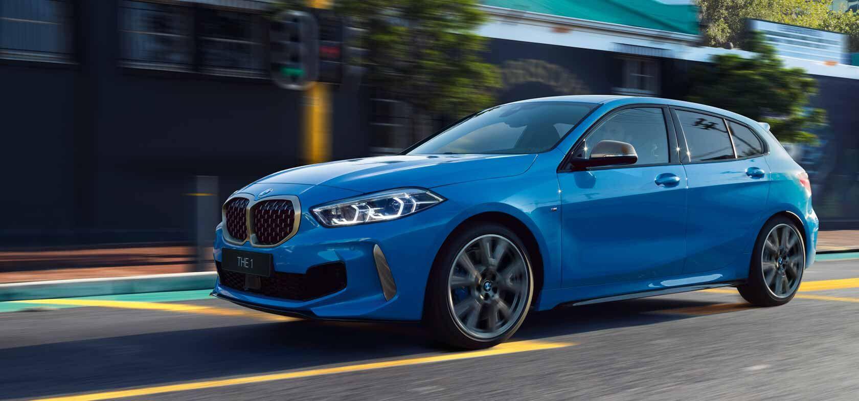 THE ONE. Uusi BMW 1-sarja.