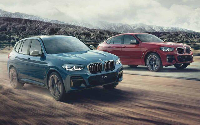 BMW X3 ja X4 -xDrive Edition erikoishintaan.