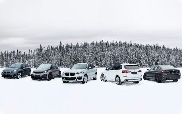 BMW X Electrified Tour 2020 Autokeskuksessa