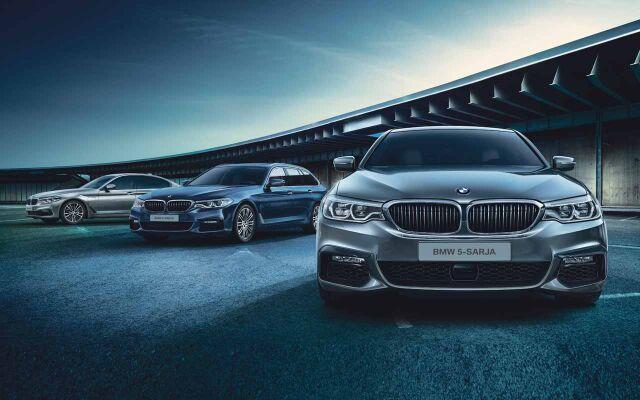 Rajoitettu erä BMW-malleja huippueduilla!