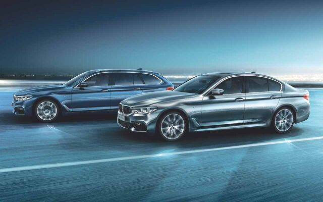 Erä BMW-malleja nopeaan toimitukseen huippueduilla