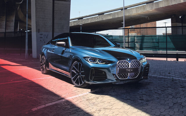 Täysin uusi BMW 4-sarjan coupé