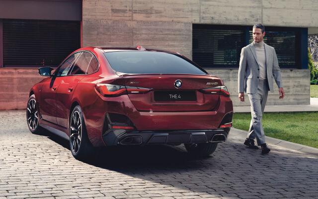 Täysin uusi BMW 4-sarjan Gran Coupé