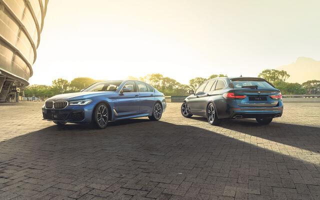 Uudet BMW 5-sarjan Sedan ja Touring
