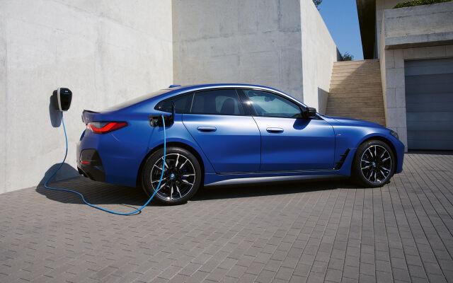 BMW i4 - täyssähköinen Gran Coupé