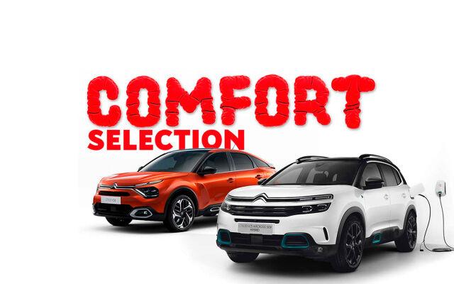 Citroën Comfort Selection nyt huikeilla eduilla