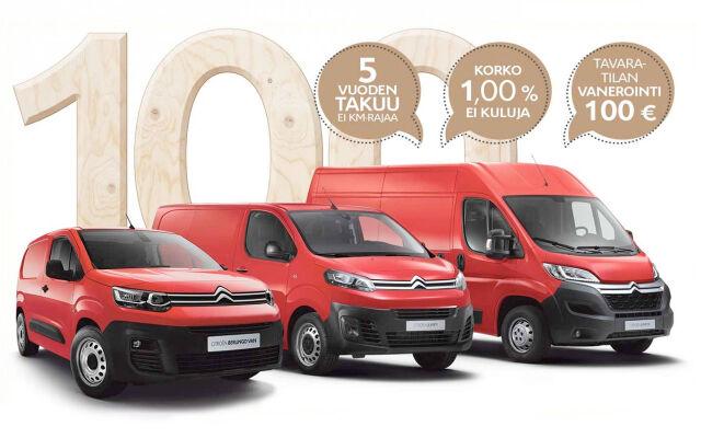 Citroën 100v.: Ammattilainen ammattilaisen rinnalla