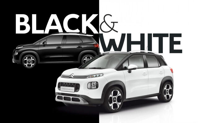 Citroën C3 Aircross: Black & White -edition