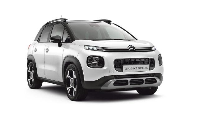 Kompakti ja muunneltava Citroën C3 Aircross