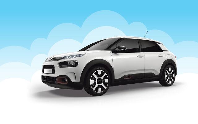 Citroën C4 Cactus: dieselautomaatti kampanjahintaan
