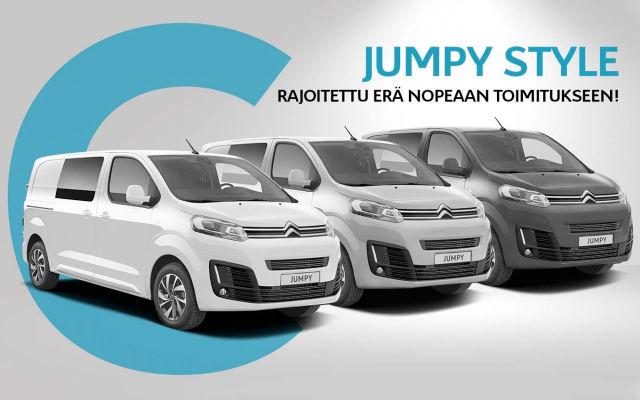 Erikoiserä: Citroën Jumpy Style