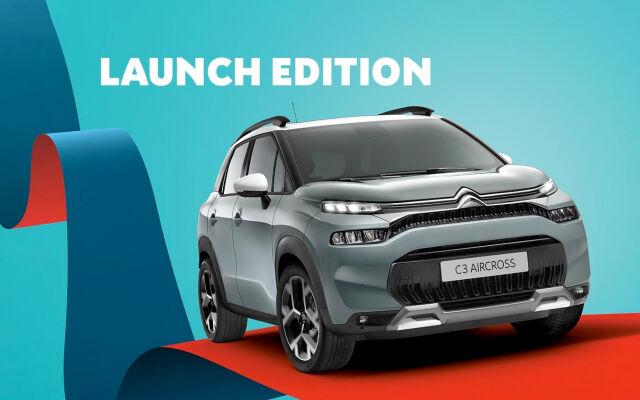 Uusi C3 Aircross SUV Launch Edition