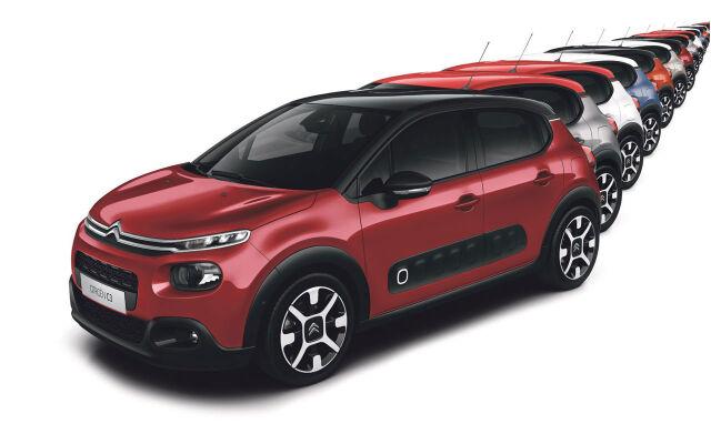 Citroën C3 Feel Plus ja Shine Plus -erikoismallit