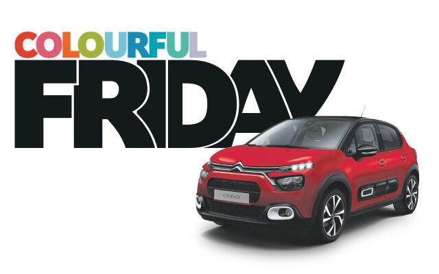 Uusi värikäs Citroën C3 Colourful Friday -hintaan