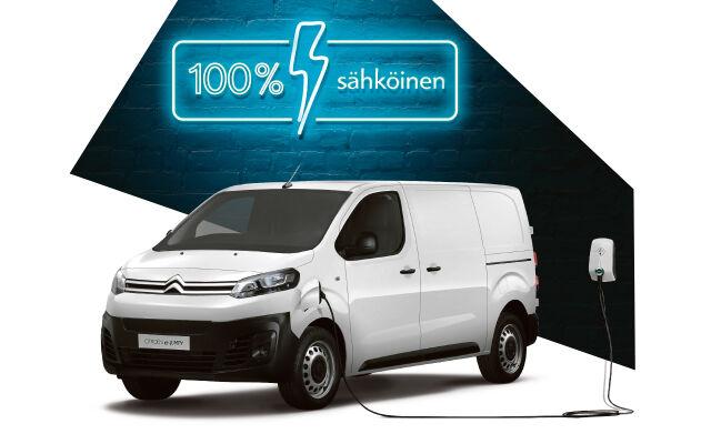Uusi Citroën ë-Jumpy