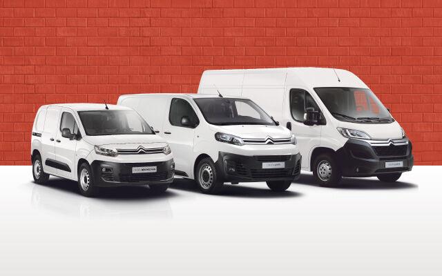 Citroën-hyötyajoneuvoihin rahoitus 0,95%+kulut