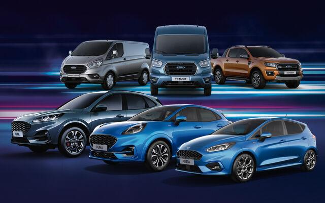Ford Rahoituskasko kaikkiin malleihin nyt 49 €/kk