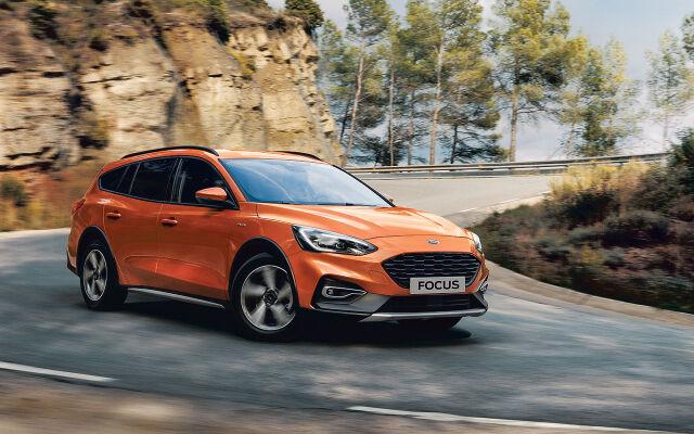 Täysin uuteen Ford Focus Activeen rahoituskorko 0,99%