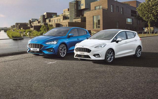 Ford-henkilöautoihin 0 % korko ilman kuluja