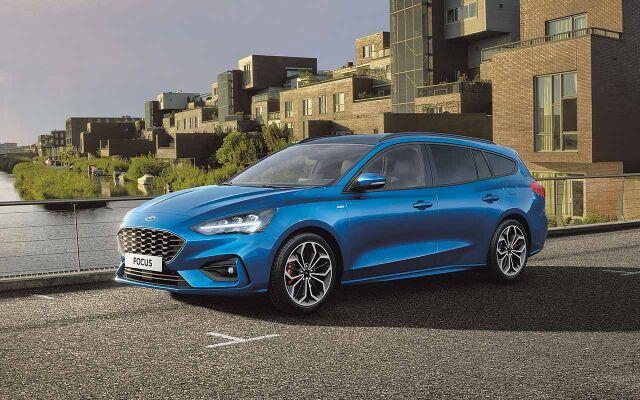 Erään Ford Focus Titanium -malleja korko 0%