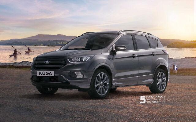 Ford Kuga AWD – kampanjahinnoitellut AWD-nelivedot