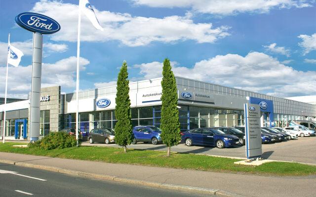 Ford Suomi 95v -juhlaedut Tampereella