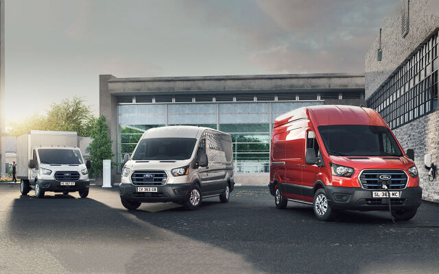 Uusi täyssähköinen Ford e-Transit