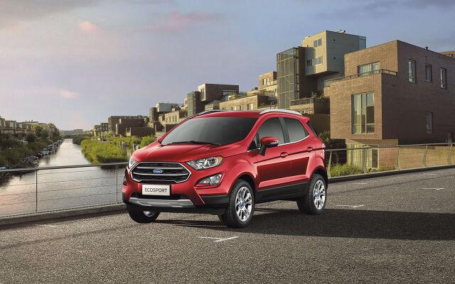 Ford EcoSport Titanium kampanjahintaan + korko 0 %