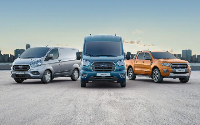 Ford-hyötyajoneuvoihin nyt edullinen nollakorko