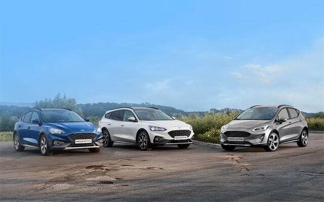 Ford-henkilöautoihin 1000 € varuste-etu