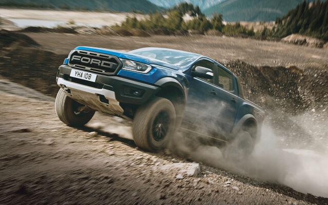 Ainutlaatuinen täysin uusi Ford Ranger Raptor