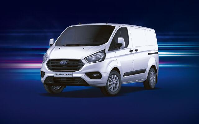 Ford Transit Custom Van kampanjahintaan