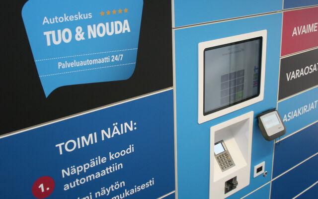 Tuo & Nouda -palveluautomaatti palvelee 24/7