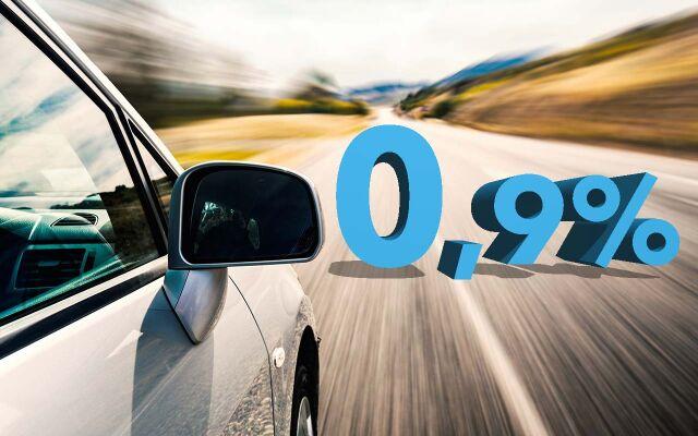 Erään vaihtoautoja rahoituskorko 0,9% + kulut