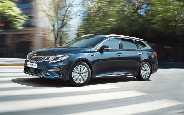 Kia Optima Sportswagon Active -erikoismalli