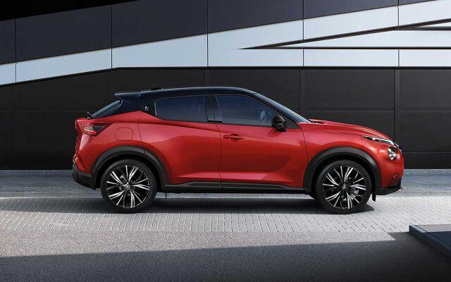 Uuden sukupolven Nissan JUKE.