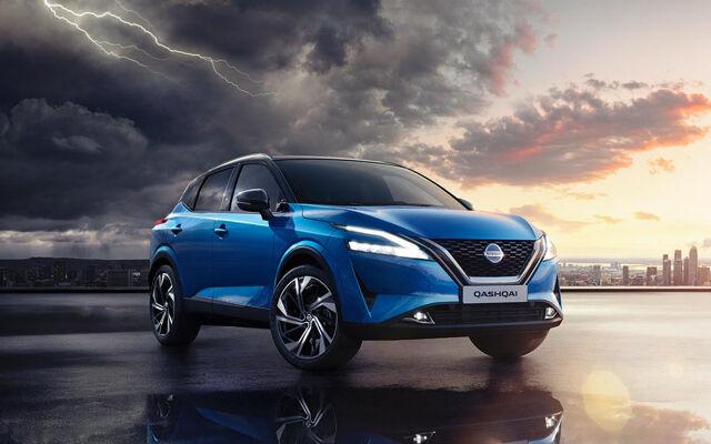 Täysin uusi Nissan QASHQAI