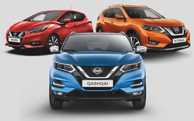 Nissan Micra, Qashqai ja X-Trail -malleihin 0% korko