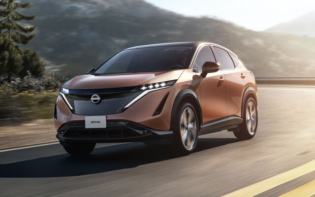Uusi Nissan Ariya