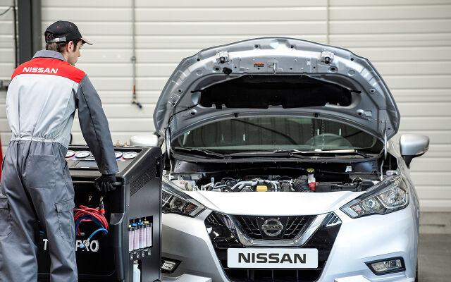 Nissan-ykköshuollon asennustarjoukset