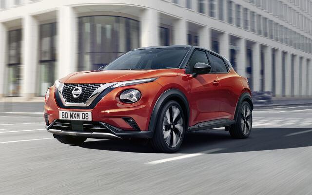 Nissan Juke: rahoitus 0 % ilman kuluja