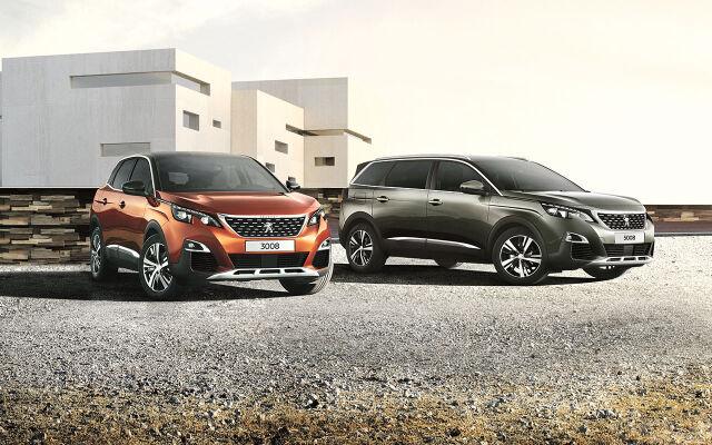 Peugeot 3008 ja 5008 SUV huippuedulla