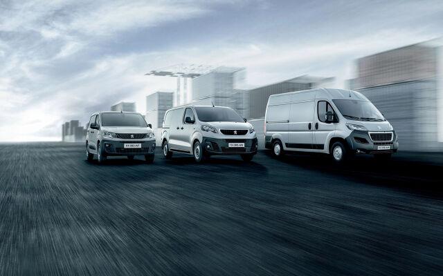 Peugeot hyötyajoneuvot - takuu 5 vuotta