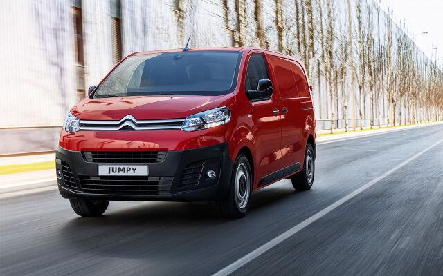 Erä Citroën Jumpy -malleja erikoisehdoin