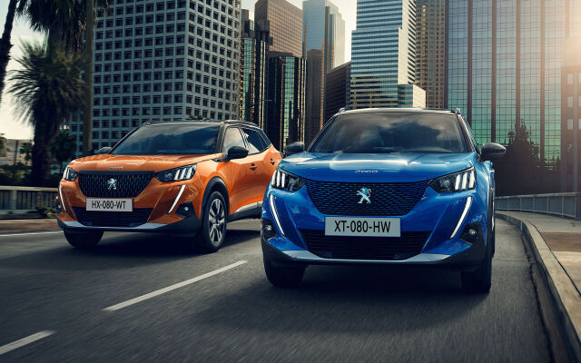 Uusi, huippumoderni Peugeot 2008